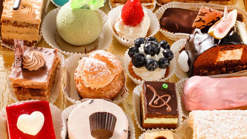 types of dessert